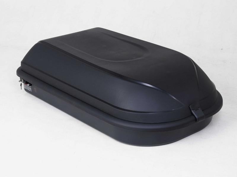 Бокс CLASSIC 320 (133*85*40) черный, одностороннее открывание, матовый 8544