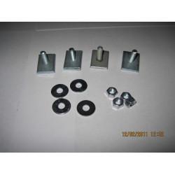 Комплект переходников для аэродинамических дуг (L=20 мм) для велокрепления и корзины