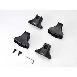 Комплект опор багажника (4 шт. без адаптеров ТИП С - крепление в штатные места)