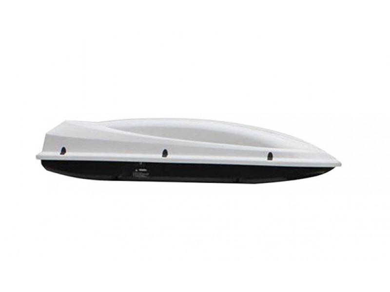Бокс Arctic 434 (180*78*38) снежно-белый металлик, двухстороннее открывание 8583