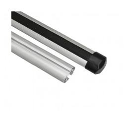 Алюминиевая дуга эконом аэро профиль L = 1100 комплект 2 шт. (макс. нагрузка 48кг)