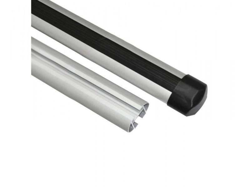 Алюминиевая дуга эконом аэро профиль L = 1100 комплект 2 шт. (макс. нагрузка 48кг) 6012