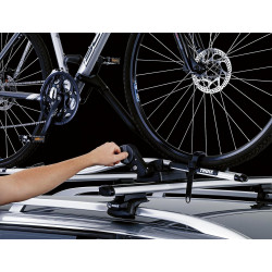 Вертикальное велосипедное крепление Thule ProRide 591 Twin pack