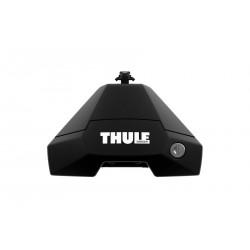 Упоры THULE Evo 710500 для автомобилей с гладкой крышей (с замками)