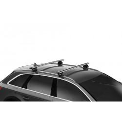 Упоры THULE Evo 710600 для автомобилей с рейлингами заподлицо