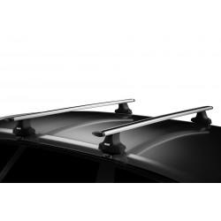 Упоры THULE 754 для автомобилей с гладкой крышей (с замками)