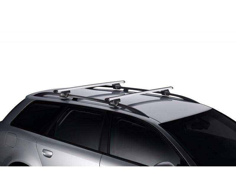 Багажник THULE на рейлинги Smart Rack 120см алюминиевые дуги 794