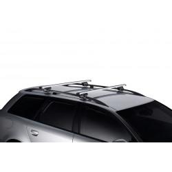 Багажник THULE на рейлинги Smart Rack 127см алюминиевые дуги