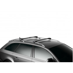 Багажник THULE WingBar Edge черного цвета (на рейлинги) Длина дуг S+M 958420