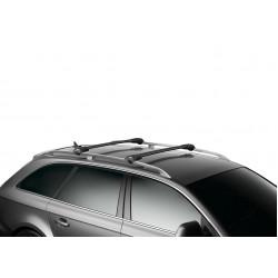 Багажник THULE WingBar Edge черного цвета (на рейлинги) Длина дуг M+L 958520