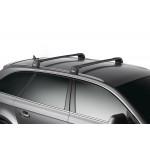 Багажник THULE WingBar Edge черного цвета (на Fixpoint / интегр. рейлинги) Длина дуг S 959120 9591B
