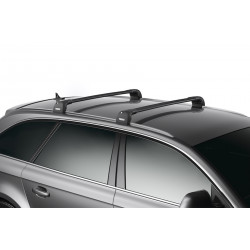 Багажник THULE WingBar Edge черного цвета (на Fixpoint / интегр. рейлинги) Длина дуг S 959120