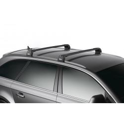 Багажник THULE WingBar Edge черного цвета (на Fixpoint / интегр. рейлинги) Длина дуг S+M 959420