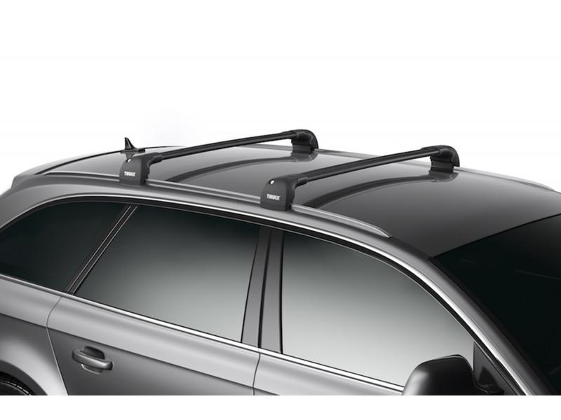 Багажник THULE WingBar Edge черного цвета (на Fixpoint / интегр. рейлинги) Длина дуг M+L 959520 9595B