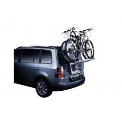 Крепление на заднюю дверь Thule BackPac для фургонов, минивэнов, микроавтобусов (2–4 велосип.) 973